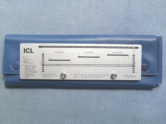 Checker Paper Icl Paper Tape Checker